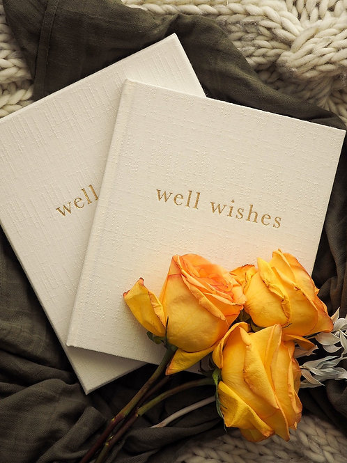 Well Wishes. Guest Book