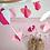 Thumbnail: Eco Cubs | Magenta, Blush Pink & White Mobile