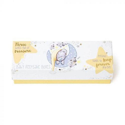 Tiny Tatty Teddy Baby - Trinket Boxes Set 4
