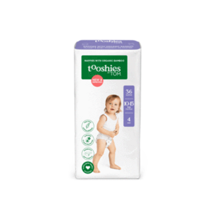 Size 4 Toddler Bamboo Nappies 10-15kg