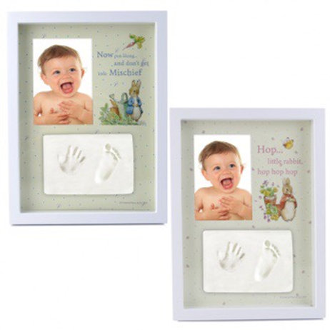 Gift Set: Baby Hand/Foot Clay Frame - Peter Rabbit