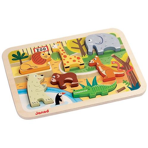 Janod - Zoo Chunky Puzzle