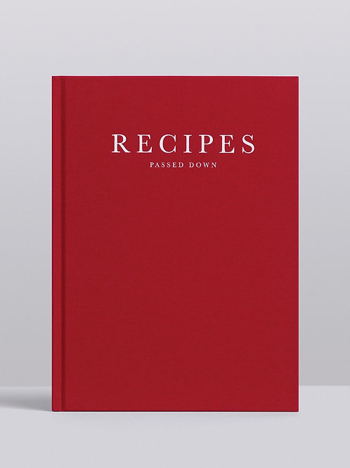 Recipes Passed Down. Wine
