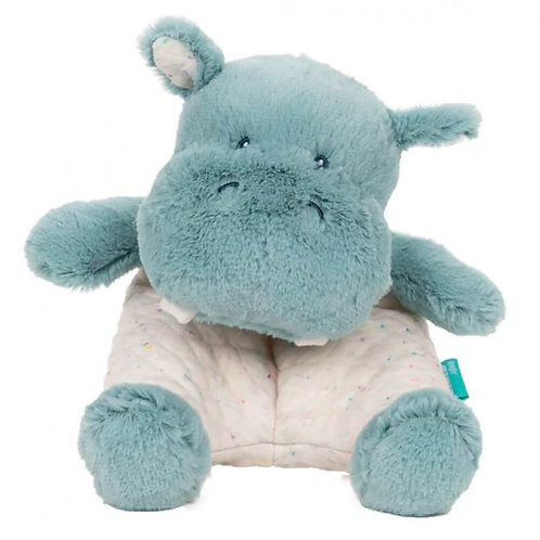 Gund Oh So Snuggly: Hippo Small