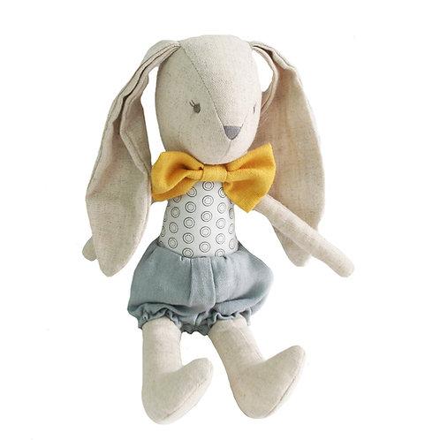 Baby Boy Bunny 26cm Grey Butterscotch