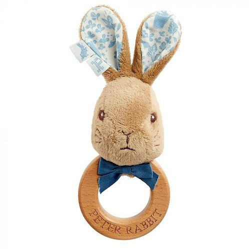 Signature: Wooden Ring Rattle Peter