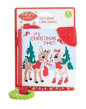 Rudolph Soft Book