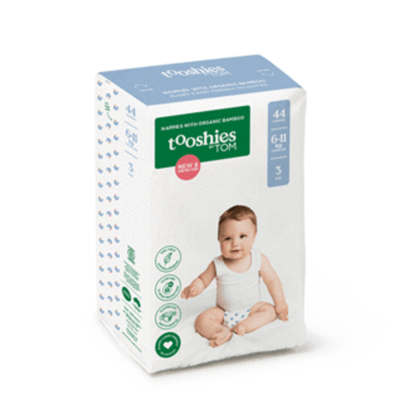 Size 3 Crawler Nappies 6-11KG