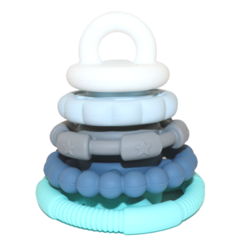 Rainbow Stacker & Teether Toy