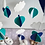 Thumbnail: Eco Cubs | Navy Blue, Turquoise & White Mobile