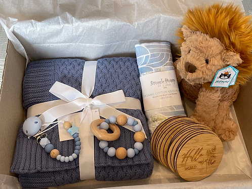 Ultimate Baby Shower Gift Box - Lion