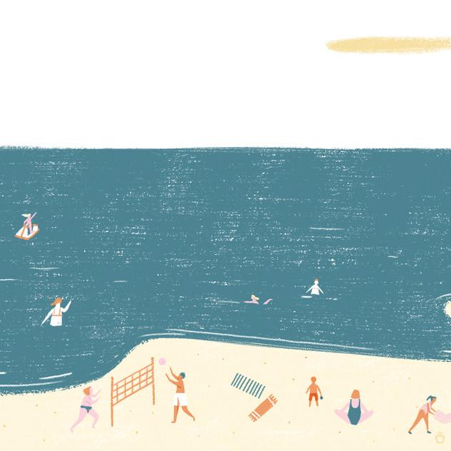 Día de playa / cómic