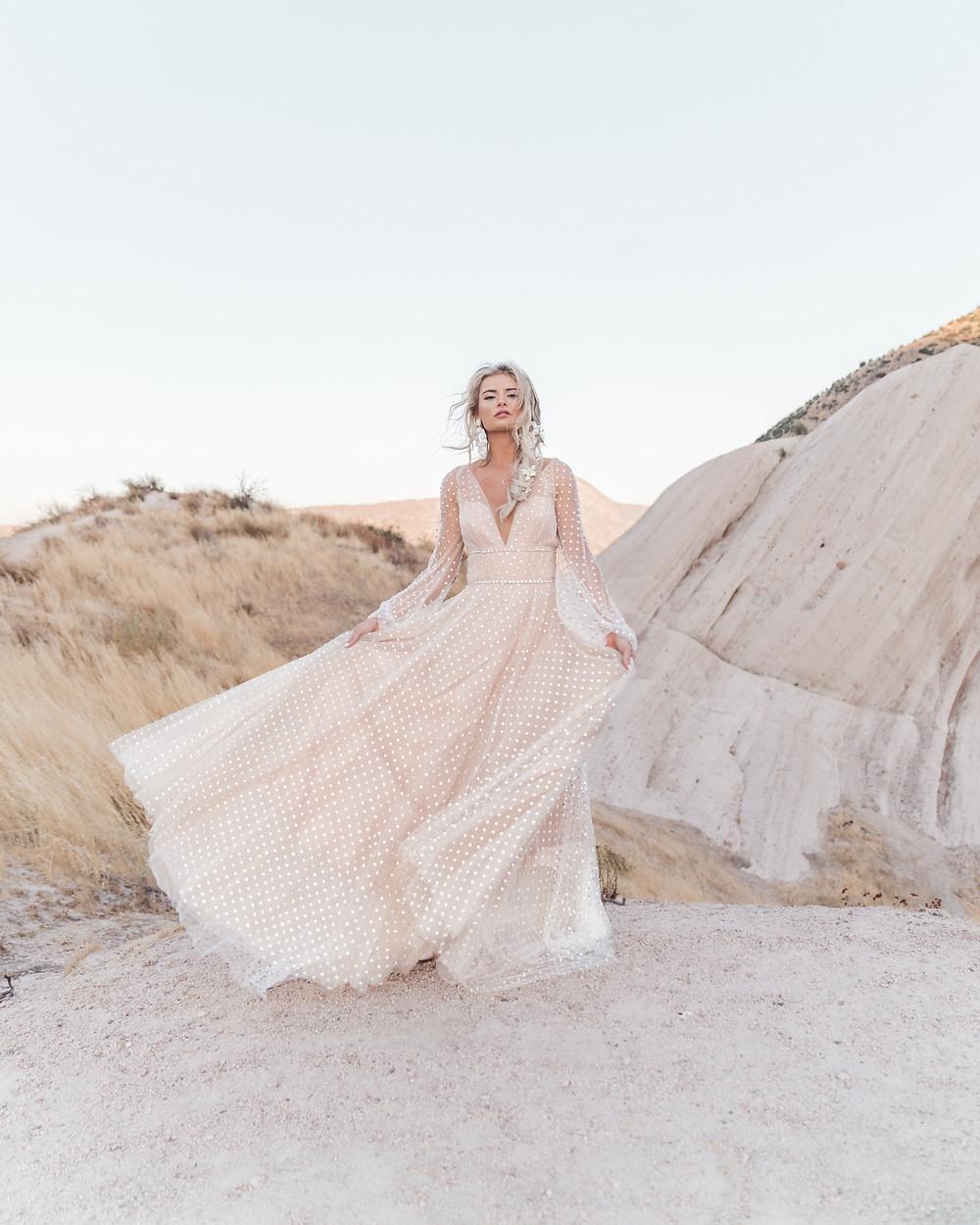 Bohemian bride boho wedding inspiration