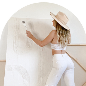 HOW TO CREATE TEXTURED ART WITH SPACKLE