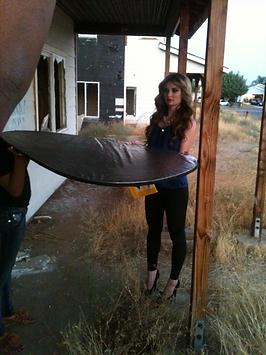 photoshoot behind the scene