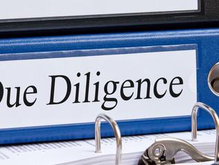 DUE DILIGENCE: 5 TIPOS MAIS COMUNS