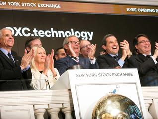 DXC Technology, fusão da CSC e HPE Services, estreia na Bolsa de Valores de Nova York nesta segunda