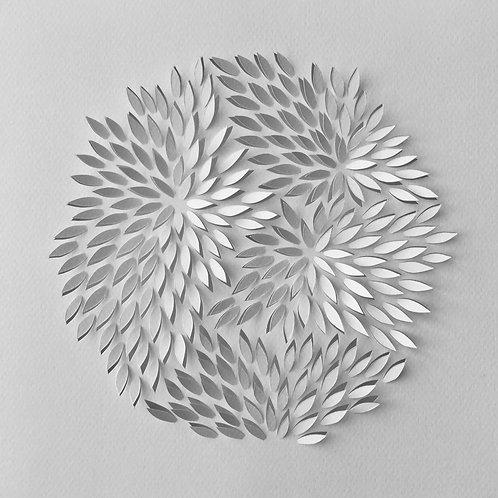 Papierobjekt 'chrysanthemum'