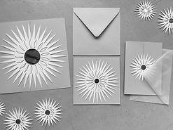 Scherenschnitt Sterne, 3D christmas ornament paper, sunburst paper, timeless paper ornament, sun reflector catcher paper mirror, sun catcher,