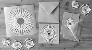 Holzhauser Sterne mit Kuvert