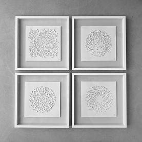 paper art hand cut, relief paper 3D, floral art, light and shade art, scherenschnitt, kirigami,