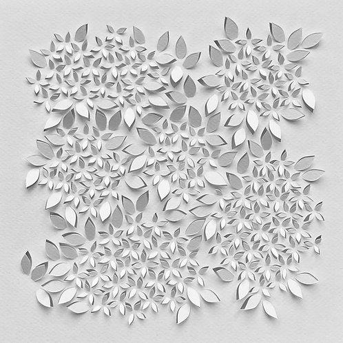 Papierobjekt 'Hydrangea'