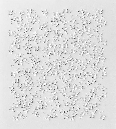 Papierobjekt 'cherry blossoms I'