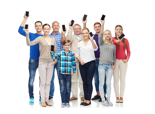family, technology, generation and peopl