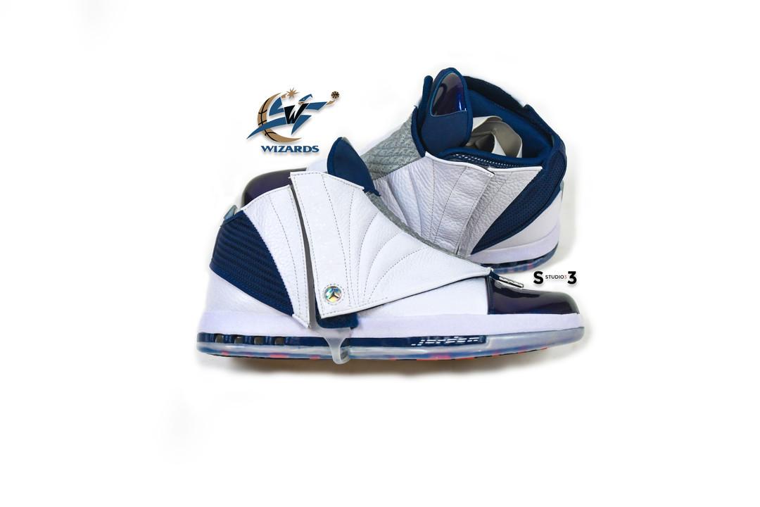 Jordan 16 Midnight Blue