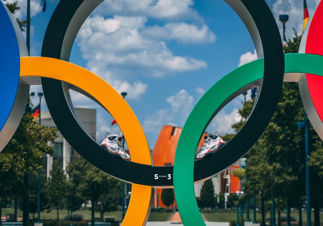 Olympic Jordan 7