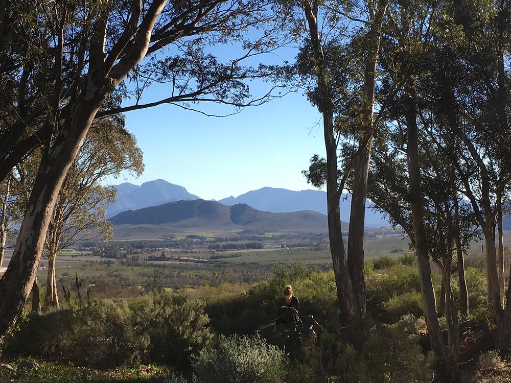 Uitzicht stilte retraite Zuid-Afrika