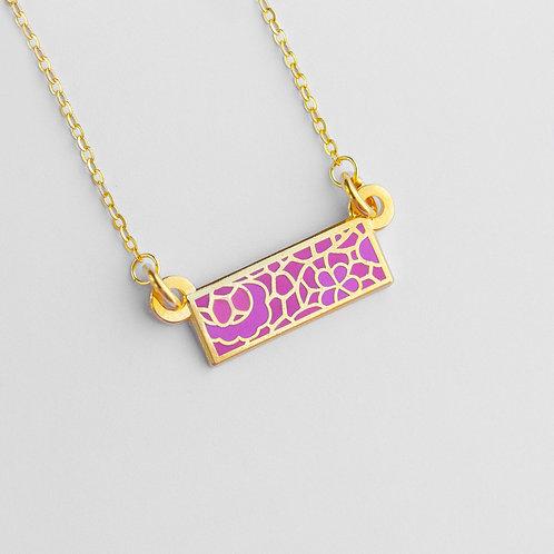 Lace Bar Necklace