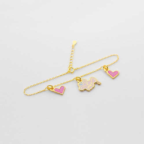Cake Bracelet (3 Charms)
