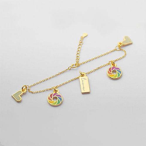 Pride Bracelet (5 Charms)