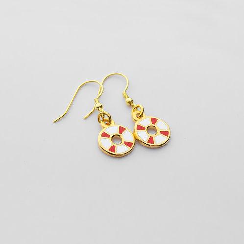 Pool Ring Earrings