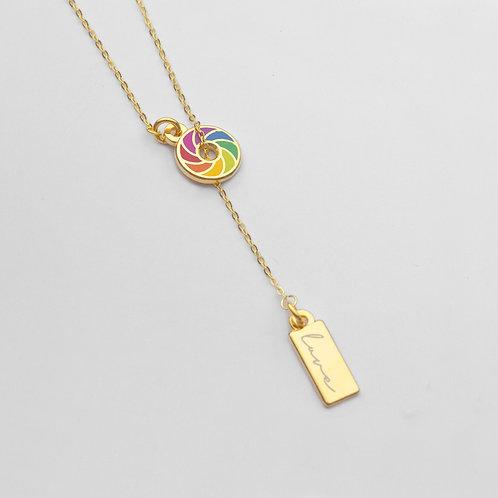 Pride Lariat Necklace