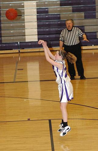 Shooting a free throw