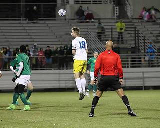 Kansas High School Soccer Match
