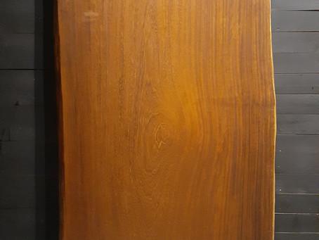 アフリカンチーク(アフロモシア) 一枚板