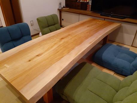 アフリカンチェリー(ボセ)の座卓
