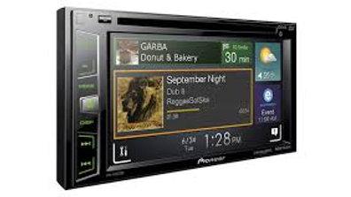 "pioneer sirius xm radio 6.2"" screen"