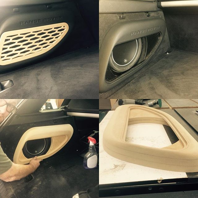 2015 Range Rover sport custom enclosure