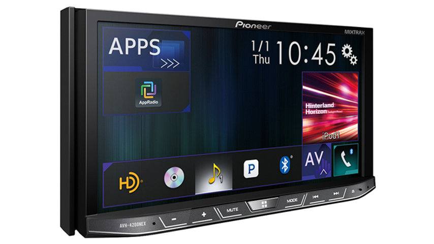 Apple CarPlay Android Auto pioneer touchscreen hd radio