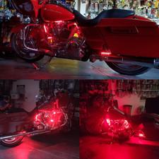 Harley Davidson LED lit