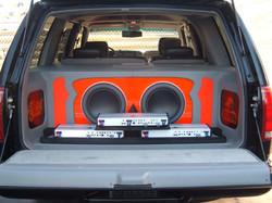 tahoe orange and gray