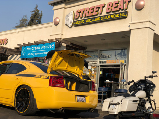 Street Beat Car Audio Custom installation