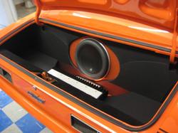 1968 Yenko Camaro JL audio system