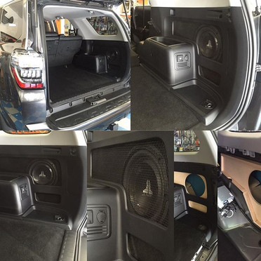 2017 Toyota 4runner custom subwoofer