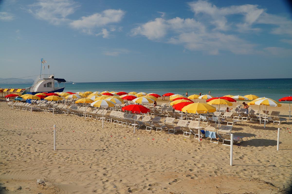 Волна, Анапа, пляж общий вид