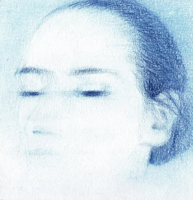Blue Self-Portrait Series (I) - Float